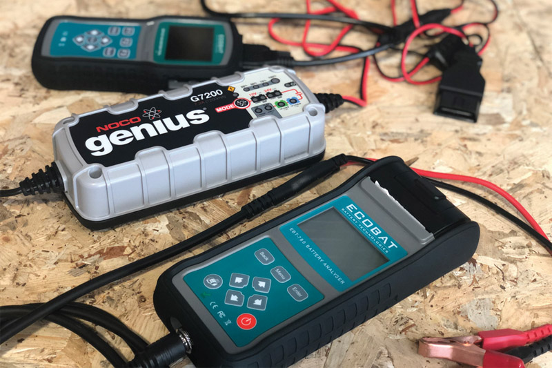 Pacote de teste de bateria start-stop