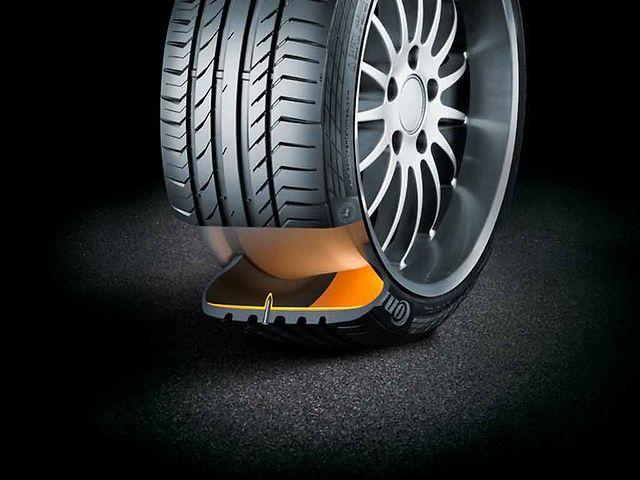 Continental oferece pneus das linhas ContiSportContact 5
