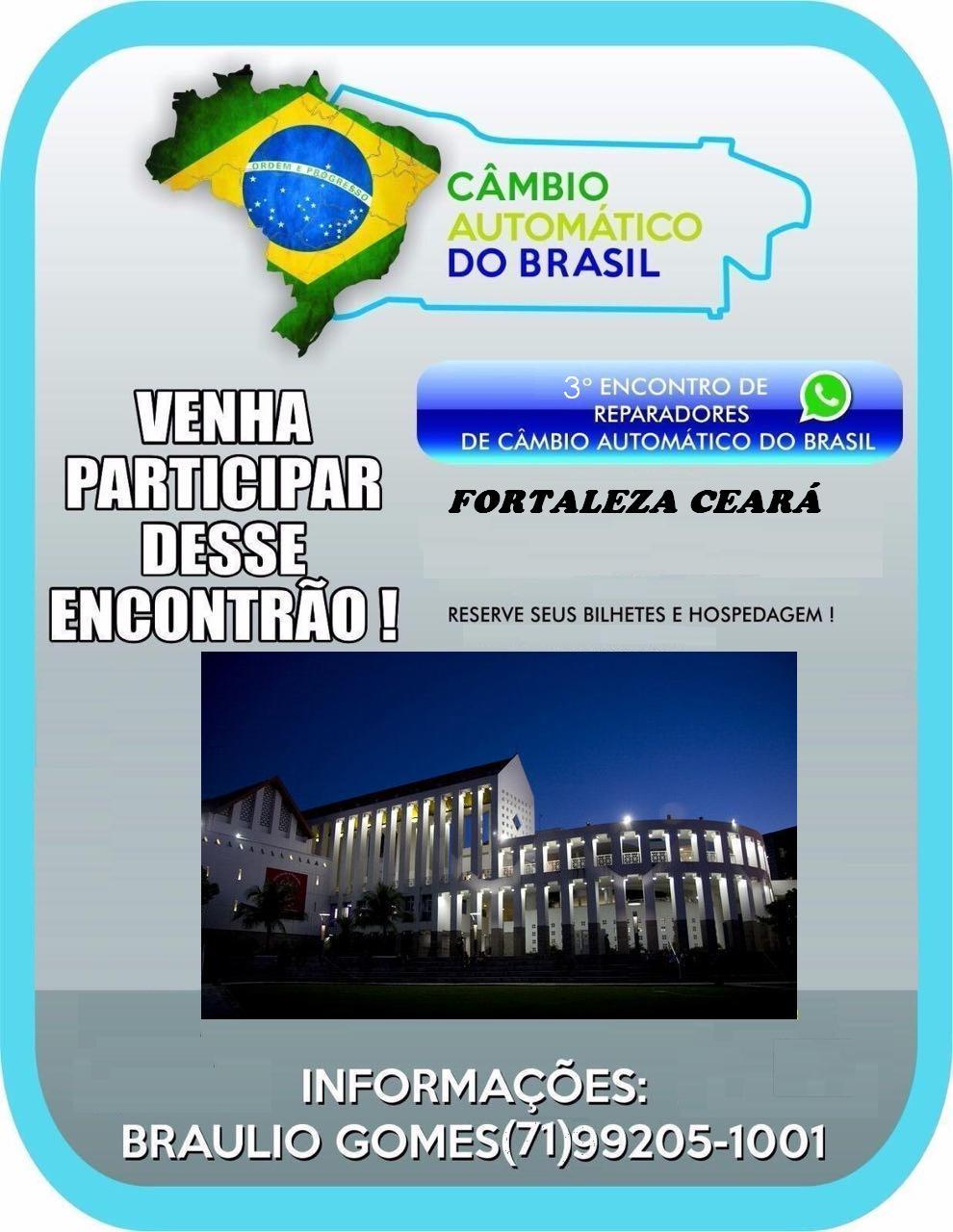 1º CONGRESSO TÉCNICO DO CÂMBIO AUTOMÁTICO DO BRASIL FORTALEZA - CEARÁ