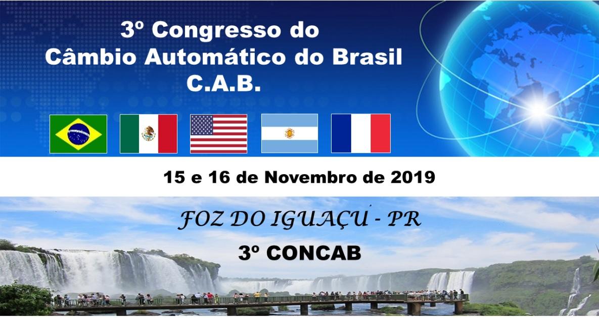 3º CONGRESSO TÉCNICO DO CÂMBIO AUTOMÁTICO DO BRASIL EM FOZ DO IGUAÇU - PR